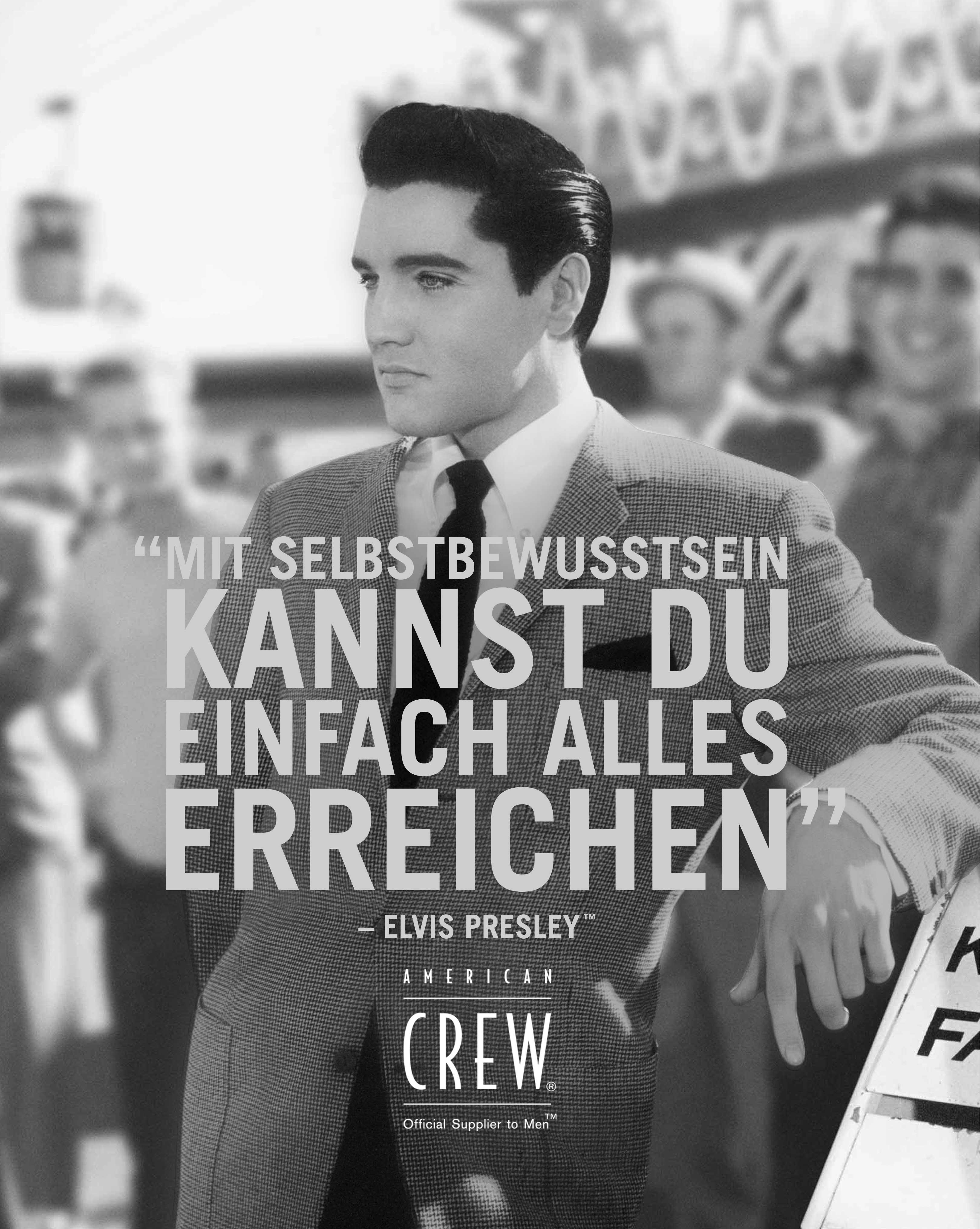 American Crew: Elvis presley